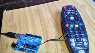 Control LEDs with IR Remote Control element14 Arduino