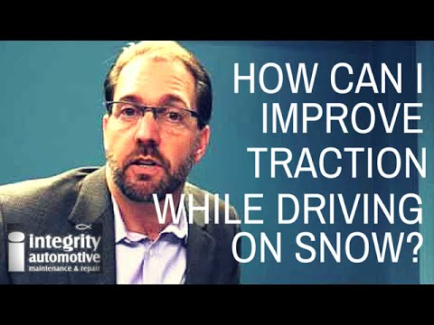 How Can I Improve Traction When Driving On Snow?