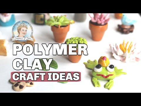 DIY Fairy Garden Decor with Polymer Clay