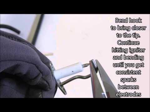 Good Life Cannon - Adjust igniter spark plug