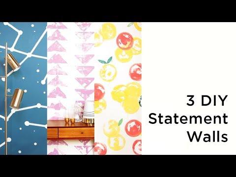 3 DIY Statement Walls