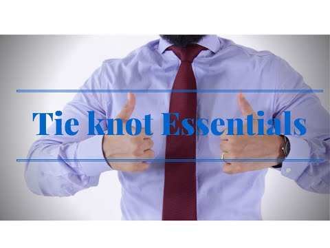 The Only Two Tie Knots a Man Needs!