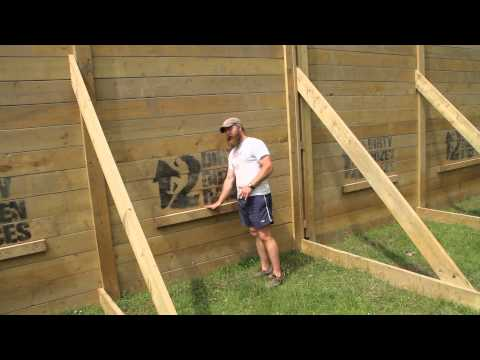 How to climb a 10 foot wall
