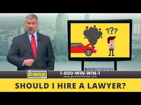 Should I Hire A Lawyer?   Atlanta Personal Injury Lawyer