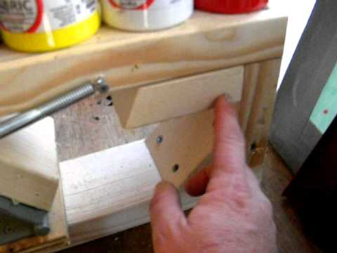 homemade Screen printing press CHEAP AND EASY!