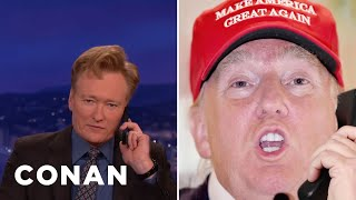 Donald Trump Calls Conan  - CONAN on TBS