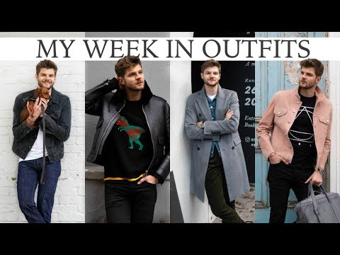 WEEK IN OUTFITS & WHAT'S IN MY BAG