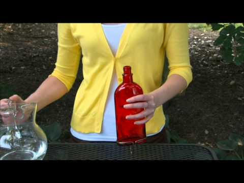 Antique Bottle Hummingbird Feeder Instructional Video