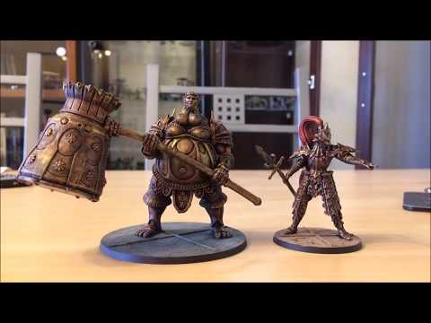 Dark Souls Board Game. How to Paint Metal