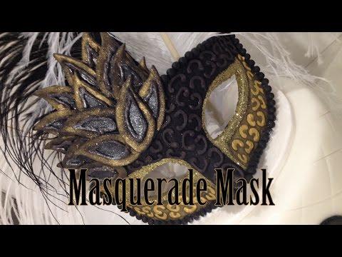 How to Make a Fondant Masquerade Mask