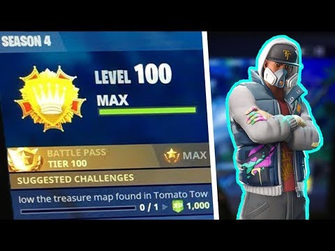 My SECRET Tips On Ranking Up FAST!! - Level 1 to MAX Level 100 in Fortnite Battle Royale Season 4!