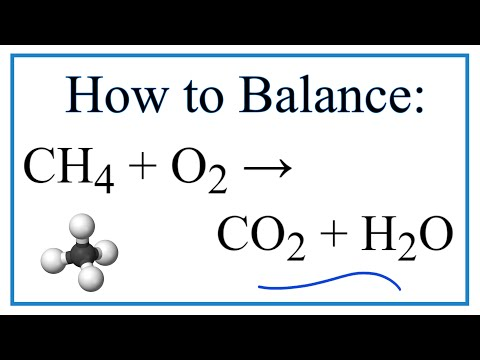 CH4 + O2 = CO2  +  H2O :  Balanced Equation (Methane Combustion Reaction)