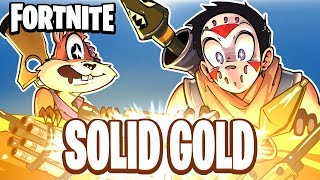 FORTNITE BR - SOLID GOLD! (NEW GAME MODE!) Duo Vs Squads!