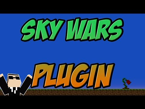 Skywars Plugin Minecraft Bukkit 1.8   1.11 Spigot   German    Tutorial l Skywarz