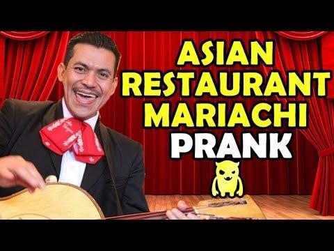 Asian Restaurant Mariachi Prank - Ownage Pranks