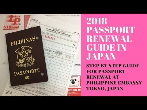 Passport Renewal Guide in Japan
