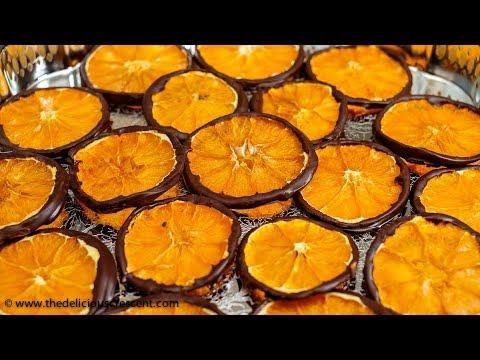Dark Chocolate Orange Slices Quick Video