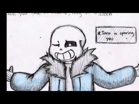 Undertale Lyric Comic-Gasoline