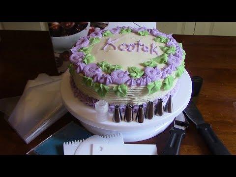 Kootek Cake Turntable and Decorating Kit