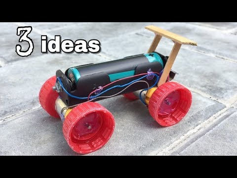 3 Amazing Toy ideas for Fun - How to Make a Car