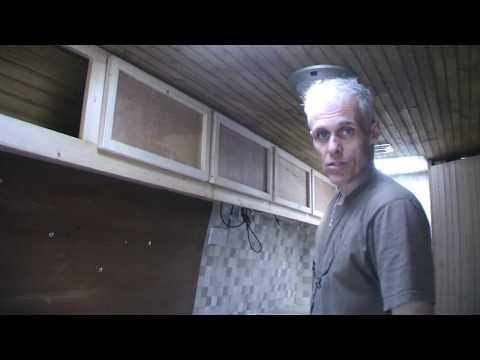 Camper van build 12 - Making the cabinet doors
