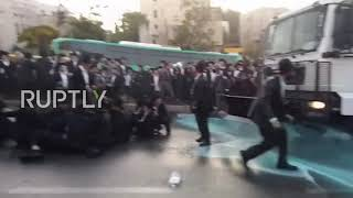 Israel: Ten arrested during ultra-Orthodox draft protest