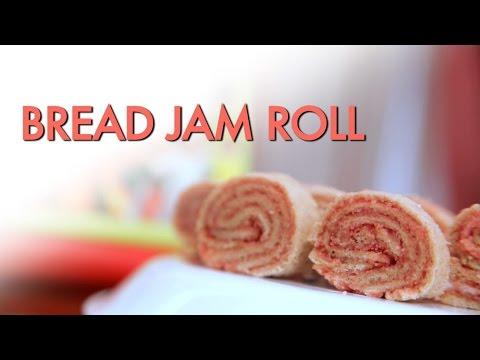 Bread Jam Roll by Archana || Archana's Rasoi