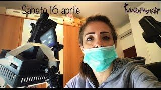 Vlog sabato 16 Aprile Sembro un chirurgo