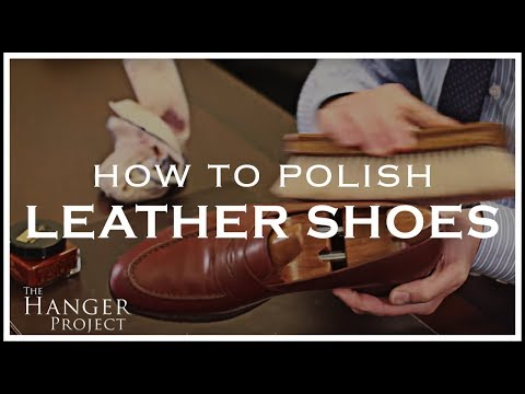 How to Polish Shoes | Leather Shoe Shine Tutorial