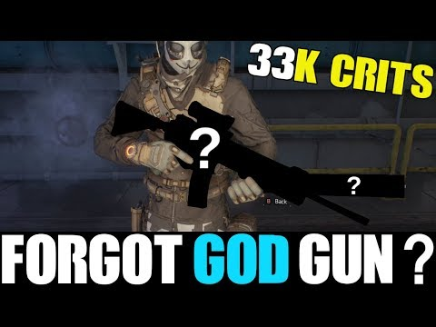 IS THIS FORGOT ASSAULT RIFLE THE NEW GOD WEAPON?? | THE DIVISION 1.8.1