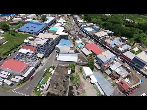 Drone Flight Over Ba Town, Varadoli and Yalalevu Ba Fiji Using Go Pro 6 with Karma