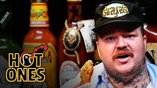 Download Matty Matheson Turns Into a Motivational Speaker Eating Spicy Wings | Hot Ones Video
