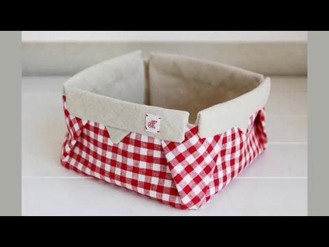 Shine Sewing Tutorial Fabric Origami Box