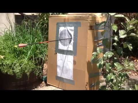 Simple Cost Effective Home Archery Target
