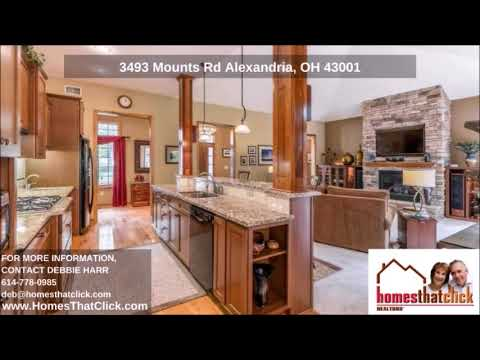 Alexandria Executive Ranch Home for Sale in Alexandria OH