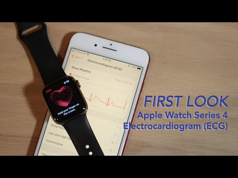 A Quick First Look at ECG on Apple Watch Series 4