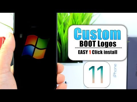 Get Custom Boot Logos on iPhone No Jailbreak iOS 11.1.2 | Easy one Click install