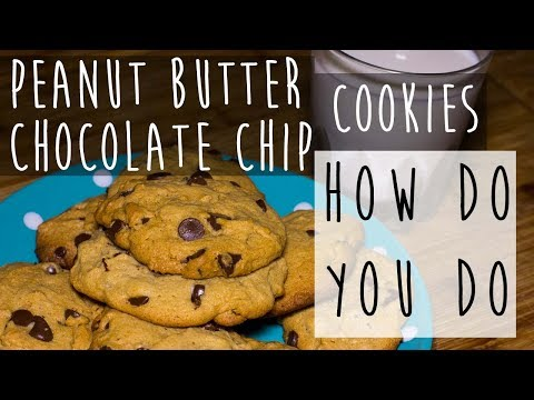 Peanut Butter Chocolate Chip Cookie Recipe || A Delight for All Seasons