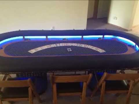 Poker Table build by Aaron