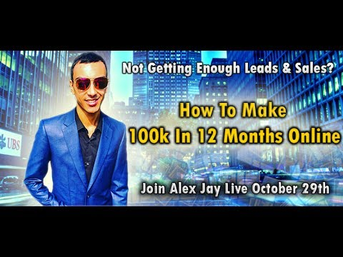 How To Make 100k Online In 12 Months