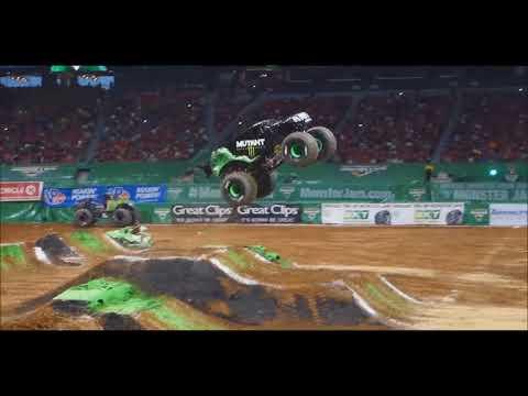 Monster Jam Atlanta 2018 HD