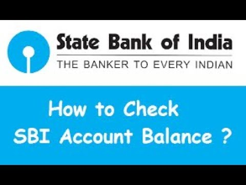 How to check your SBI account balance by a Missed call