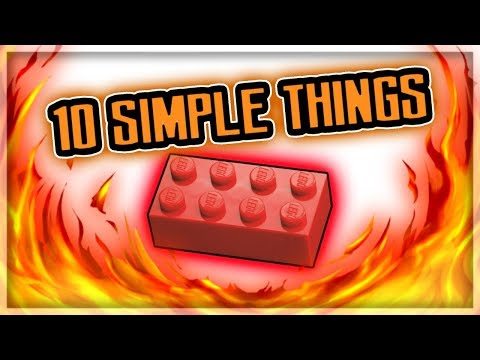 How to Make 10 Simple Things Out of Legos / 25 Subscribers Special!