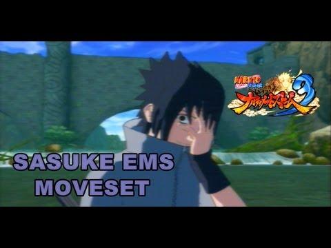 Naruto Ultimate Ninja Storm 3 Sasuke EMS (Eternal Mangekyo Sharingan) Moveset + Awakening + Ougi