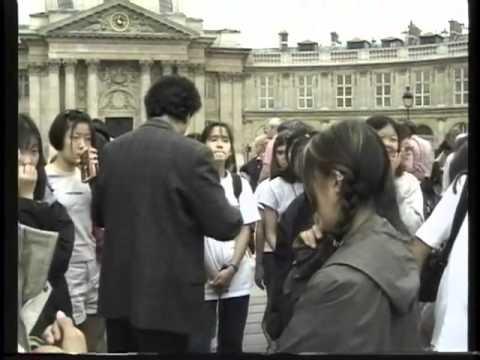 9 Paris Notre Dame - Louvre-Highlands middle school.mov