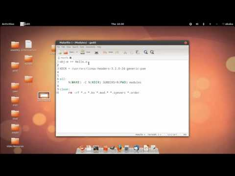 Linux Kernel Module Programming - 03 Coding, Compiling the Module