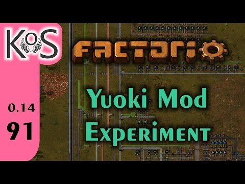Factorio: Yuoki Mod Experiment Ep 91: Our Destiny -- Canned Corn!!! - Let's Play, Gameplay 0.14