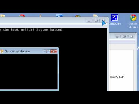 Fix VirtualBox Fatal Could not read from Boot Medium! System Halted start-up boot Error