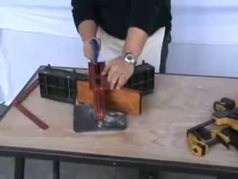 How To Cut a Miter Joint Tall Baseboard and Skirting
