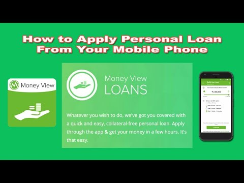 How to apply Loan from your mobile phone